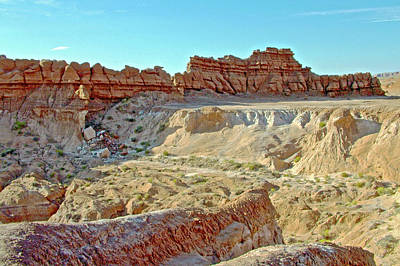 Photograph - Wall Of Goblins On Carmel Canyon Trail In Goblin Valley State Park, Utah by Ruth Hager