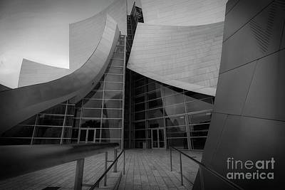 Photograph - Walt Disney Concert Hall - 3 by David Bearden