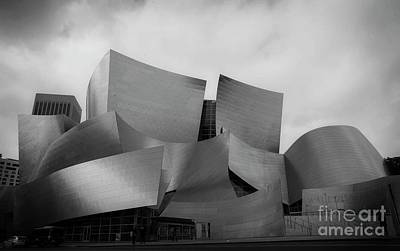 Photograph - Walt Disney Concert Hall - 4 by David Bearden