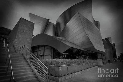 Photograph - Walt Disney Concert Hall - 5 by David Bearden