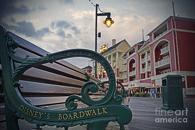 Walt Disney World - Boardwalk Villas  Art Print