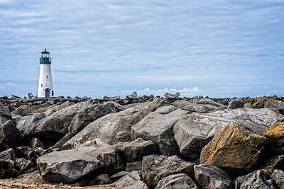 Photograph - Walton Lighthouse by James Hammond
