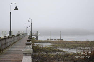 Photograph - Wando River Sea Fog by Dale Powell