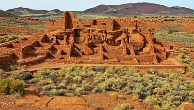 Wapatki Pueblo Original by Arthur Bohlmann