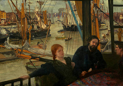 Whistler Painting - Wapping by Mountain Dreams
