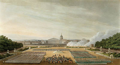 Drawing - War Of The Sixth Coalition, 1814 by Granger