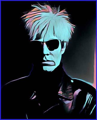Painting - Warhol Portrait by Gary Grayson