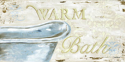 Wash Painting - Warm Bath 2 by Debbie DeWitt