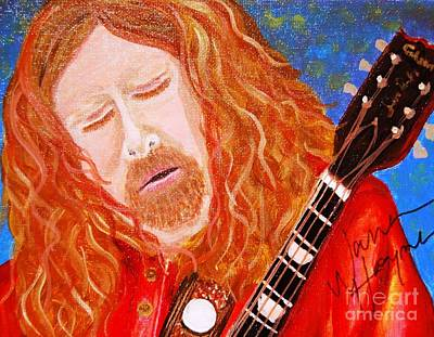 Painting - Warren Haynes by Angela Murray