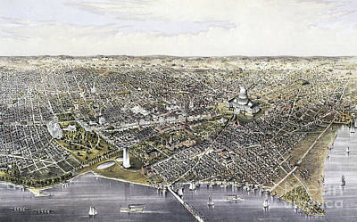 Drawing - Washington, D.c., 1880.  by Granger