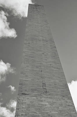 Photograph - Washington Memorial In The United States by Brandon Bourdages