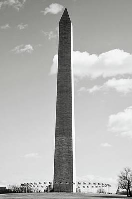Photograph - Washington Memorial In Washington Dc by Brandon Bourdages