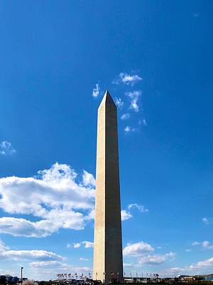 Photograph - Washington Monument by Chris Montcalmo