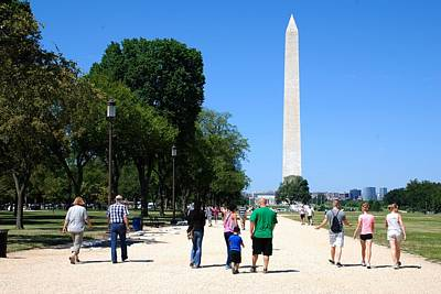 Photograph - Washington Monument by Kenny Glover