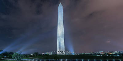 Photograph - Washington Monument by Theodore Jones