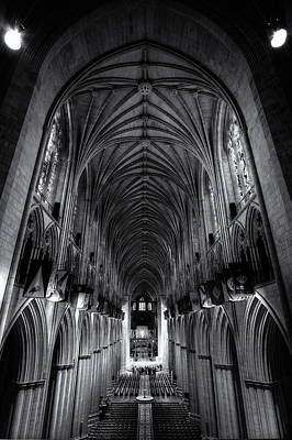 Digital Art - Washington National Cathedral by Patrick Groleau