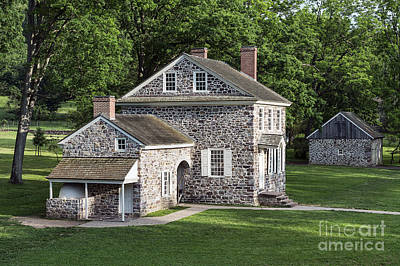 Fieldstone Photograph - Washington's Headquarters by John Greim