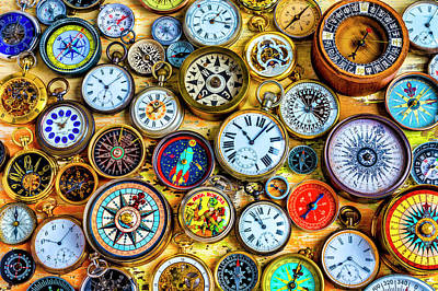 Photograph - Watches And Compasses by Garry Gay