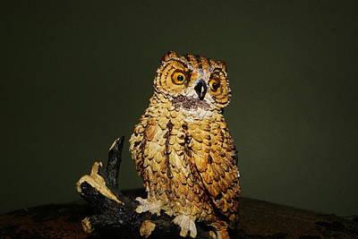Watchful Owl Original