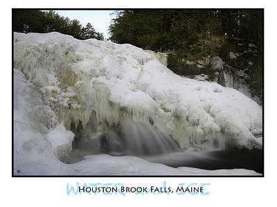 Photograph - Water And Ice by John Meader