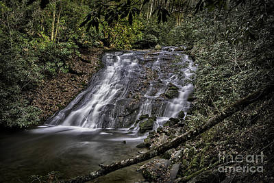 Photograph - Water Fall 3 by Walt Foegelle