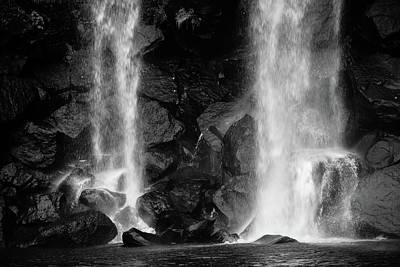 Photograph - Water Fall by Hyuntae Kim