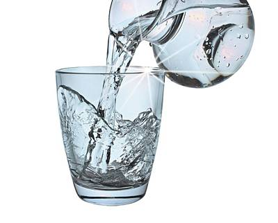 Photograph - Water Glass by Manfred Lutzius
