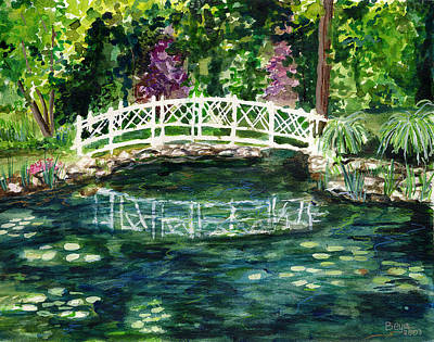 Water Lily Art Print by Clara Sue Beym