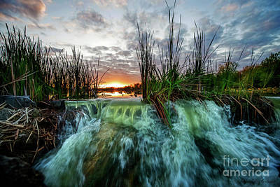 Photograph - Water Over The Dam by David Arment