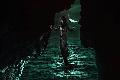Digital Art - Water Spirit 1 by Alma