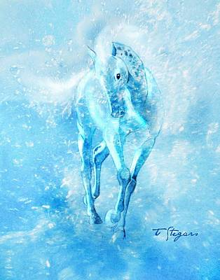 Painting - Water Spirit by Tarja Stegars