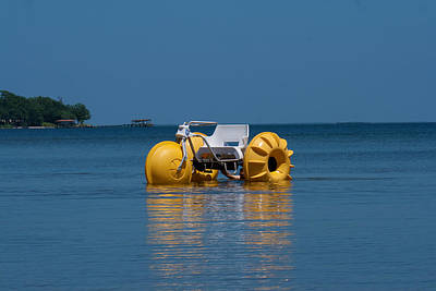 Photograph - Water Trike by Scott Sanders
