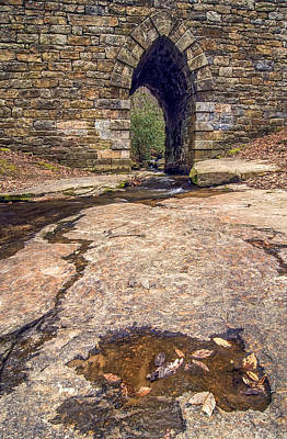 Photograph - Water Under The Poinsett Bridge by Andy Crawford