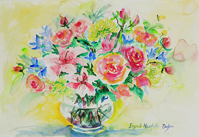 Painting - Watercolor Series 203 by Ingrid Dohm