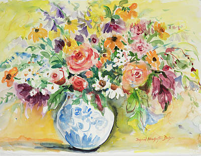 Painting - Watercolor Series 80 by Ingrid Dohm