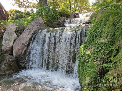 Photograph - Waterfall Garden by Kathie Chicoine