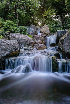 Photograph - Waterfall by Ivelin Donchev