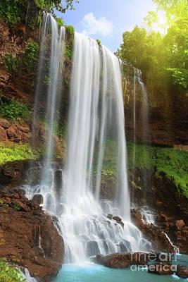 Waterfall Art Print by MotHaiBaPhoto Prints