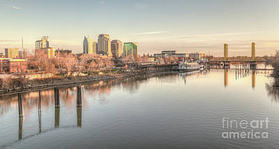 Old Sacramento Photograph - Waterfront Wonder  by Charles Garcia