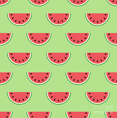 Painting - Sweet Watermelons by Alina Krysko