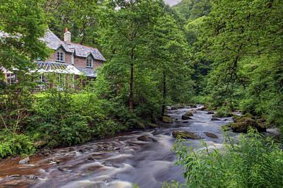 Tea Garden Photograph - Watersmeet House - England by Joana Kruse