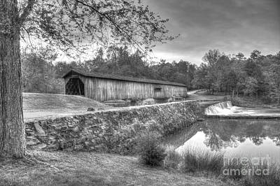 Photograph - Watson Mill Covered Bridge 7 by Reid Callaway