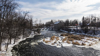 Photograph - Watson's Mill, Manotick - Ontario by Josef Pittner