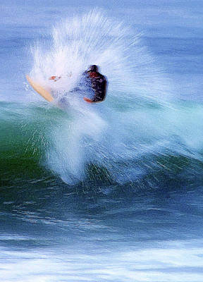 Rincon Photograph - Wave Blaster by Ron Regalado