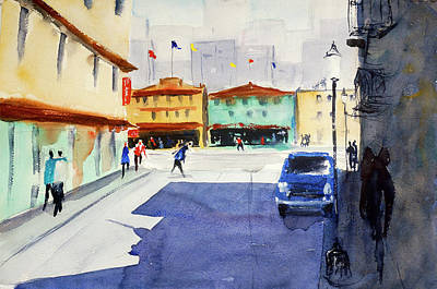 Painting - Waverly Place by Tom Simmons
