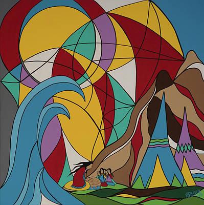 Waves Of Change Original by Krystle Retieffe