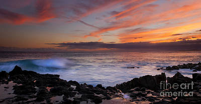 Poipu Photograph - Waves Of Paradise by Mike Dawson