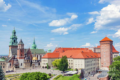 Photograph - Wawel, Royal Castle And Cathedral In Cracow, Poland by Michal Bednarek