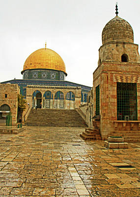 Photograph - Way To Dome Of The Rock by Munir Alawi