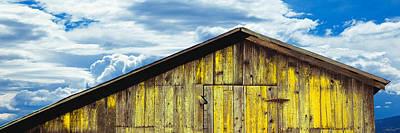 Gaviota Photograph - Weathered Wooden Barn, Gaviota, Santa by Panoramic Images